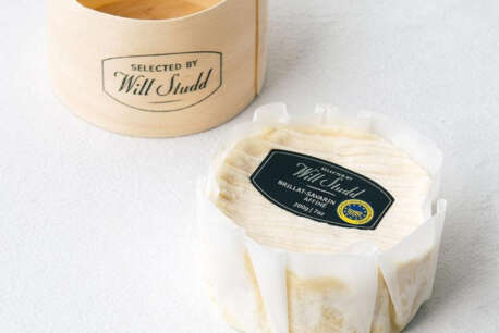 Triple Cream packaging with wooden box Will Studd 200g