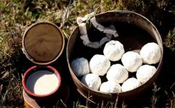 Bhutan Cheese in a balls
