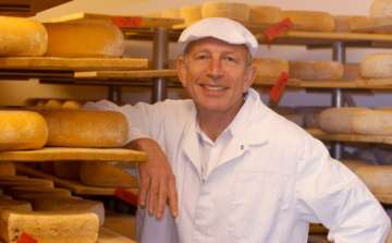 Will Studd in Denmark with cheese