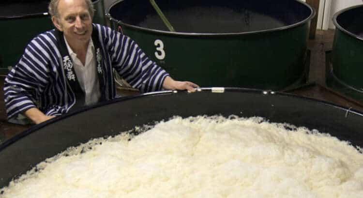 Sake Cheese Pairing Will Studd