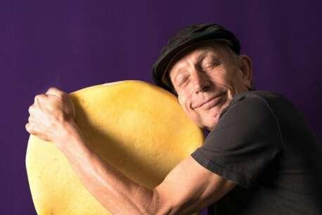 will studd hugging cheese