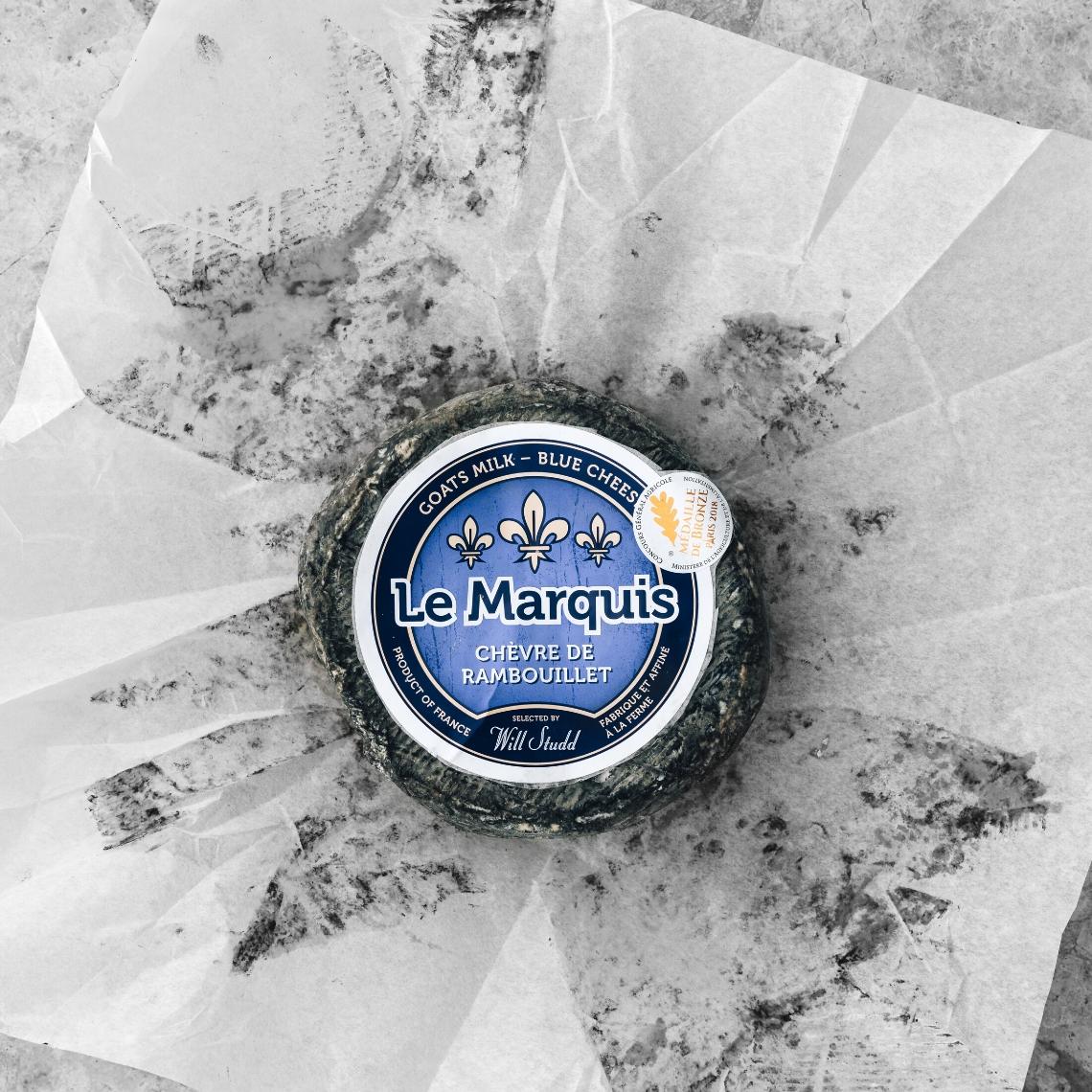 Le Marquis Chèvre de Rambouillet Bleu