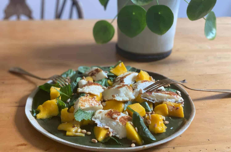 Aphrodite Halloumi Mango Salad Will Studd