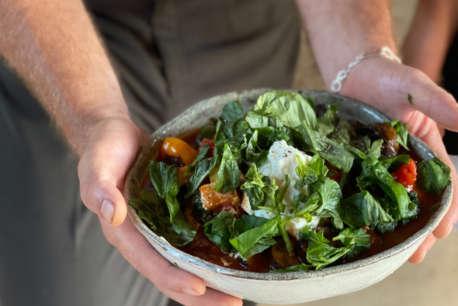 Galotyri salad