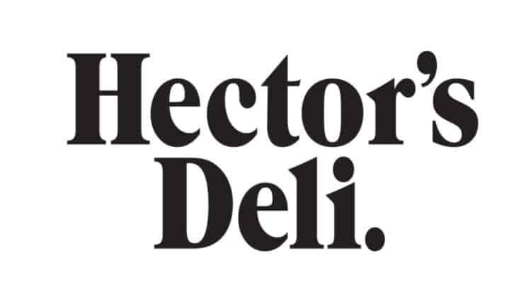 hectors deli branding