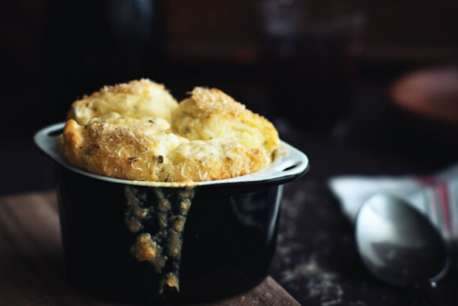 cheese soufflé'